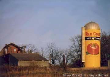 Red Gold Silo